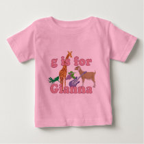 G is for Gianna Baby T-Shirt