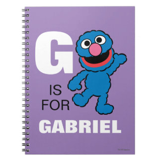 G is for Grover | Add Your Name Notebook