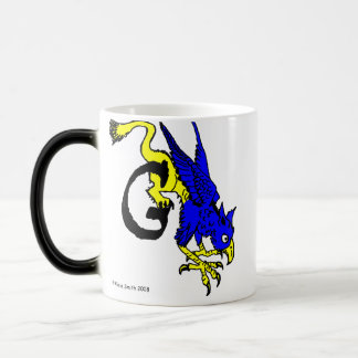 G is for Gryphon Coffee Mugs