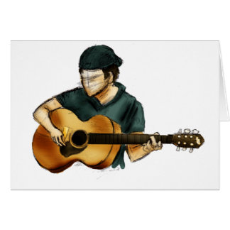 G is for Guitar Card