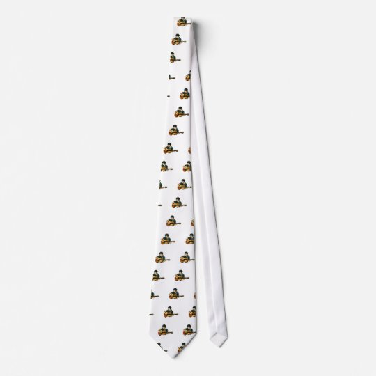 G is for Guitar Neck Tie