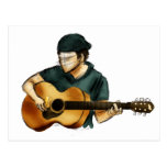 G is for Guitar Postcard