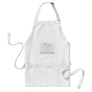G is Watching You Adult Apron