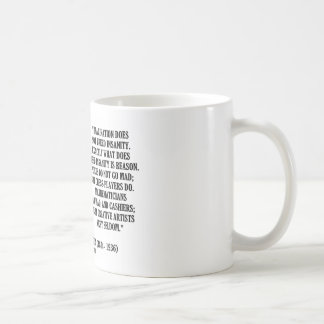 G.K. Chesterton Imagination Insanity Creative Coffee Mug
