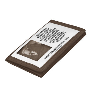 G.K. Chesterton Imagination Insanity Creative Tri-fold Wallet