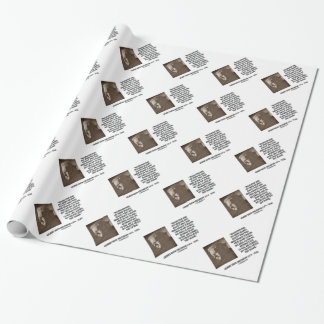 G.K. Chesterton Imagination Insanity Creative Wrapping Paper