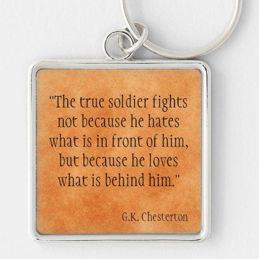 G.K. Chesterton Key Chain