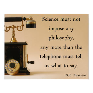 G.K. Chesterton Quote Poster