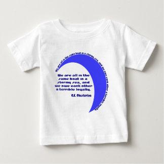 G. K. Chesterton Stormy Sea Baby T-Shirt