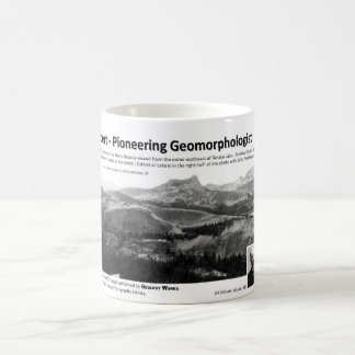 G K Gilbert III - Pioneering Geomorphologist Coffee Mug