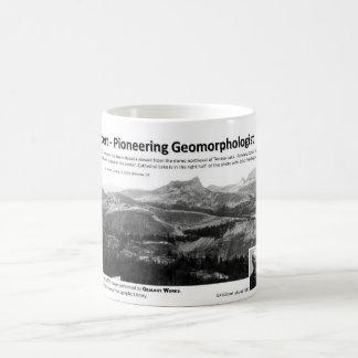 G K Gilbert III - Pioneering Geomorphologist Classic White Coffee Mug