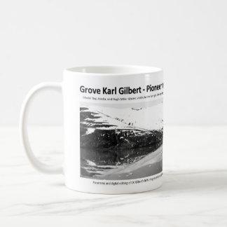 G K Gilbert IV - promoción del Geomorphologist Taza