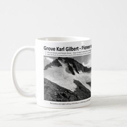G K Gilbert VIII - Pioneering Geomorphologist Coffee Mugs