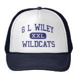 G L Wiley Wildcats Middle Leander Texas Mesh Hats