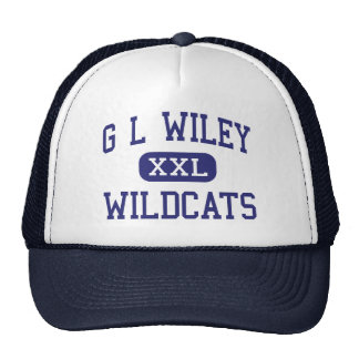 G L Wiley Wildcats Middle Leander Texas Trucker Hat