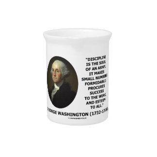 G. la disciplina de Washington es el alma de un Jarra Para Bebida