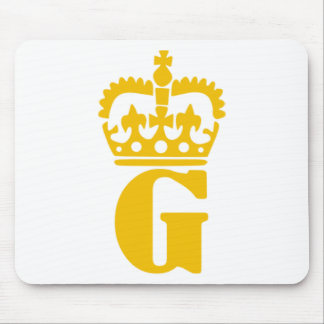 G - Letter - Name Mouse Pad