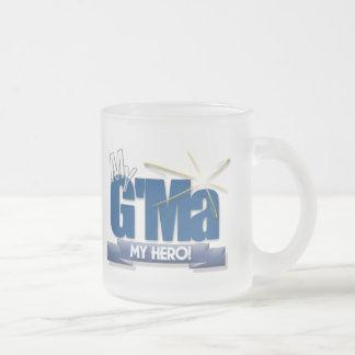 ¡G Ma mi héroe ¡Grandes regalos para las madres m Tazas De Café