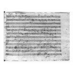 G major for violin, harpsichord and violoncello 3 postcards