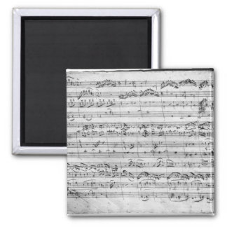 G major for violin, harpsichord and violoncello magnets