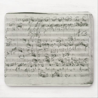 G major for violin, harpsichord and violoncello mouse pad