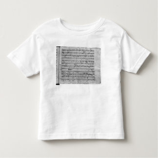 G major for violin, harpsichord and violoncello shirt
