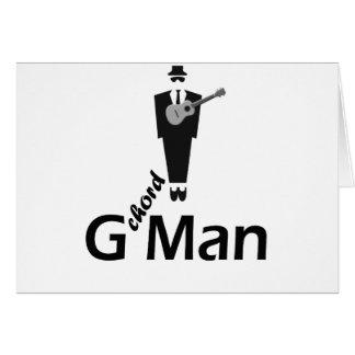 G Man Ukulele Card