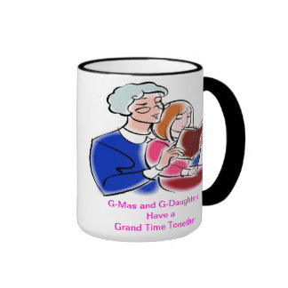 G-Mas and G-Daughters graphic 2 Ringer Coffee Mug