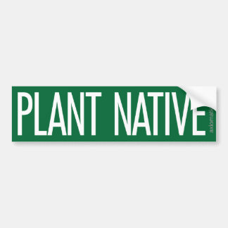 (G) NATIVO DE LA PLANTA PEGATINA PARA AUTO