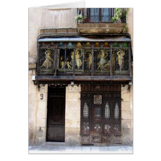 g/nc Barcelona Barri Gotic 2 Greeting Card