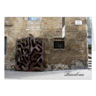 g/nc Barcelona Gaudi Door Barcelona Card