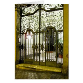 g/nc Barcelona L'Eixample Door Card