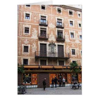 g/nc Barcelona Placa Pi Card