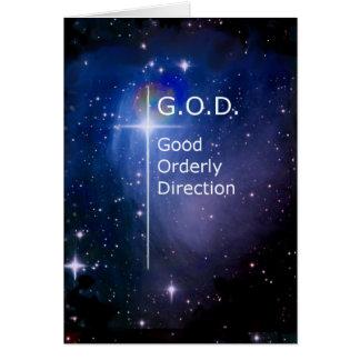 G.O.D. GREETING CARD