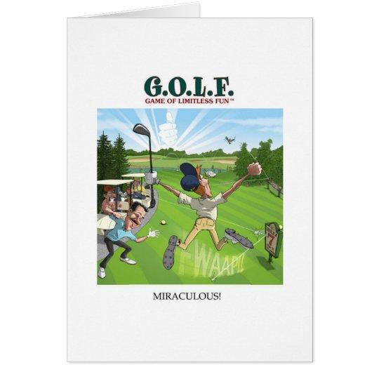 G.O.L.F. GAME OF LIMITLESS FUN CARD