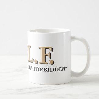 G.O.L.F. GENTLEMEN ONLY LADIES FORBIDDEN COFFEE MUG