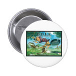 G.O.L.F GREATEST OF LIFE'S FRUSTRATIONS 2 INCH ROUND BUTTON