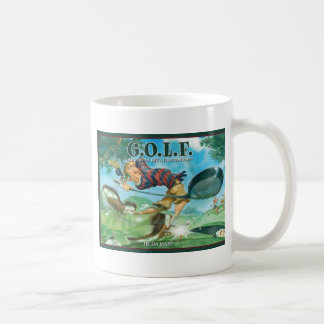 G.O.L.F GREATEST OF LIFE'S FRUSTRATIONS COFFEE MUG