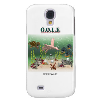 G.O.L.F. GREATEST OF LIFE'S FRUSTRATIONS GALAXY S4 COVER