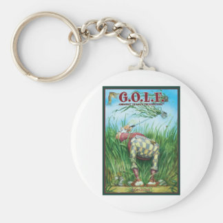 G.O.L.F GREATEST OF LIFE'S FRUSTRATIONS KEY CHAINS