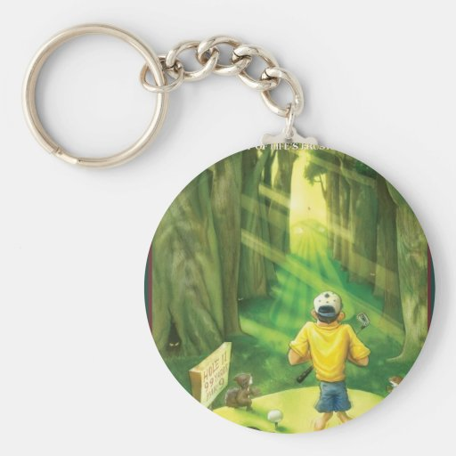 G.O.L.F GREATEST OF LIFE'S FRUSTRATIONS KEYCHAIN