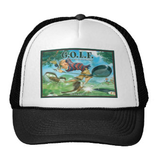 G.O.L.F. GREATEST OF LIFE'S FRUSTRATIONS TRUCKER HAT