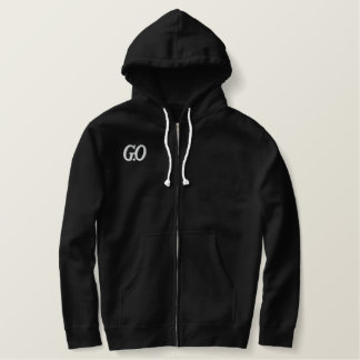 G.O/MBLAQ EMBROIDERED HOODIE