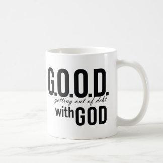G.O.O.D. with GOD Coffee Mug