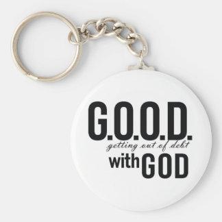 G.O.O.D. with GOD Keychain