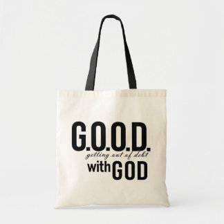 G.O.O.D. with GOD Tote Bag