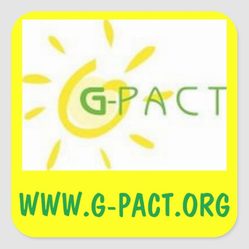 G-PACT Awareness Square Sticker