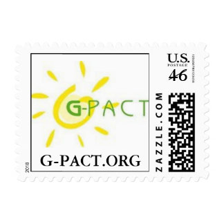 G-PACT POSTAGE STAMP