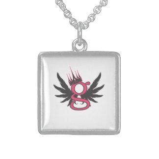 G - Para el collar del chica - plata esterlina