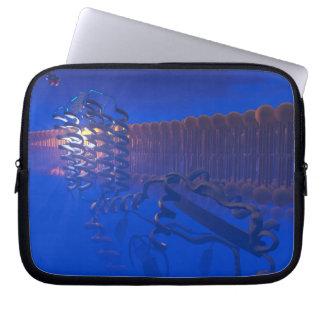 G Protein Receptor laptop sleeve